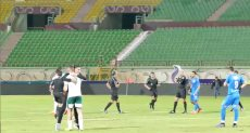 فرحه لاعبي المصري