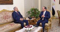 الرئيس السيسى و المشير خليفة حفتر