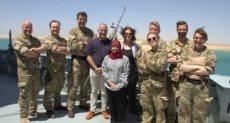 سفير الدنمارك فى القاهرة فى رحلة بحرية عبر قناة السويس