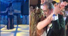 آلا كوشنير فى حفل زفاف جيهان منصور