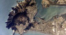مدينة عدن من الفضاء