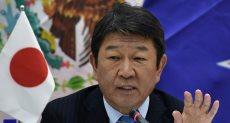 وزير الاقتصاد اليابانى توشيميتسو موتيجى