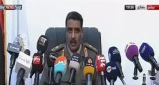 اللواء أحمد المسماري الناطق باسم الجيش الوطني الليبي