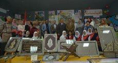 جانب من افتتاح معرض منتجات مدارس التعليم الفني