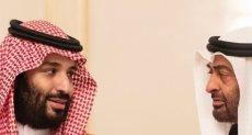 ولى العهد السعودى مع الشيخ محمد بن زايد