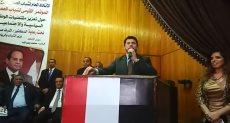 الدكتور أشرف صبحي وزير الشباب والرياضة فى المؤتمر