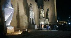 إزاحة الستار عن تمثال رمسيس الثاني