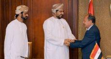 عمرو نصار يستقبل رئيس غرفة صناعة وتجارة سلطنة عمان