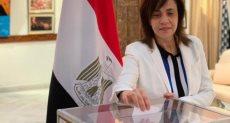 جانب من المشاركة فى استفتاء الدستور