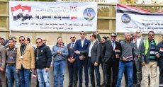العاملون بشركات البترول المصرية بالأردن يدلون بأصواتهم