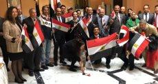 احتفاء المصريين بإيطاليا