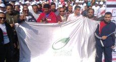 موظفو البريد ينظمون مسيرات حاشدة خلال الاستفتاء على التعديلات الدستورية 2019