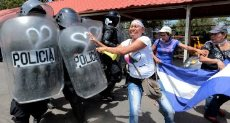 الاحتجاجات فى نيكاراجوا