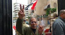 هتافات تحيا مصر من أمام اللجان بالإسكندرية