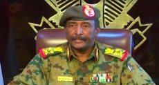 عبد الفتاح البرهان رئيس المجلس العسكرى الانتقالى السودانى