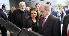 سحر نصر مع رئيس مجلس النواب القبرصي