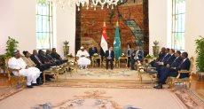 الرئيس عبد الفتاح السيسى خلال قمة الرؤساء الأفارقة