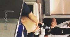 حلاقةعلى متن الطائرة