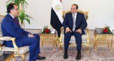 الرئيس السيسى ومصطفى مدبولى - ارشيفية