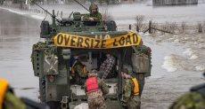 الجيش الكندى
