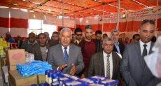 محافظ مطروح يفتتح معرض سوبر ماركت أهلا رمضان