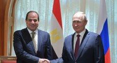 الرئيس عبد الفتاح السيسي - الرئيس الروسي فلاديمير بوتين