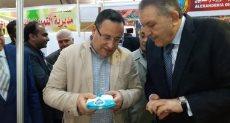 جانب من افتتاح معرض سوبر ماركت اهلا رمضان