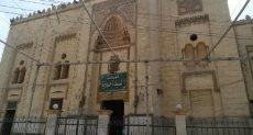 ضريح السيدة حورية حفيدة الإمام الحسين فى بنى سويف