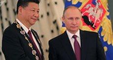 الرئيسان الروسى والصينى