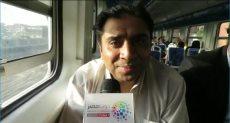 محمد صلاح رئيس قسم الإعلان والنشر بالسكة الحديد