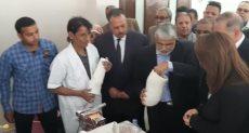 وزيرة التضامن تفتتح ورشة لإنتاج الأطراف الصناعية فى أسيوط