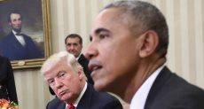 اوباما وترامب