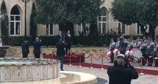 مراسم استقبال رسمية لرئيس الوزراء