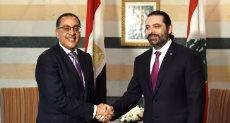 سعد الحريرى ومدبولى