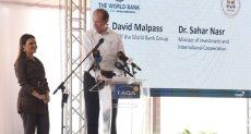 رئيس البنك الدولي خلال زيارته لمصر