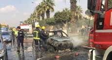 حريق سيارة - صورة أرشيفية