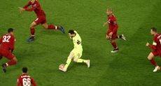 ميسي ضد ليفربول