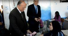محافظ القاهرة يتفقد لجان الامتحانات