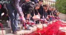 الدماء على ساحة تروكاديرو بفرنسا