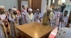 البابا تواضروس يدشن كنيسة العذراء والقديسة فيرينا بـ زيورخ