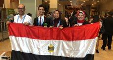 الطلاب المشاركون فى المسابقة