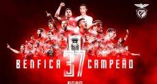 بنفيكا بطل الدوري البرتغالى