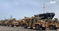 اسلحة تركيا تصل طرابلس
