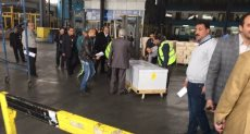 وصول جثمان إلى مطار القاهرة - ارشيفية