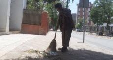 عمال النظافة بأسيوط
