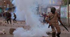 اطلاق الغاز المسيل للدموع فى كشمير