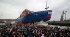 روسيا تدشن كاسحة جليد نووية
