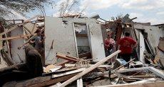 الإعصار يدمر ولاية إنديانا الأمريكية