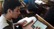 امتحانات لطلاب اولى ثانوي - ارشيفية