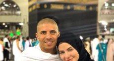 محمد زيدان و زوجته